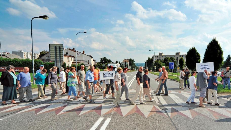 Blokáda v Havlíčkově Brodě