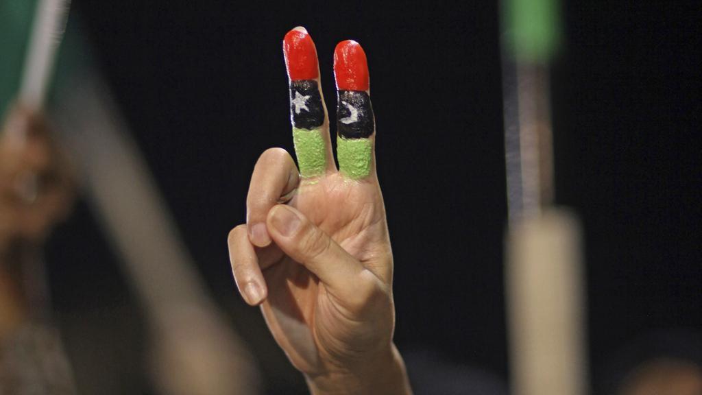 Vítězství libyjských povstalců
