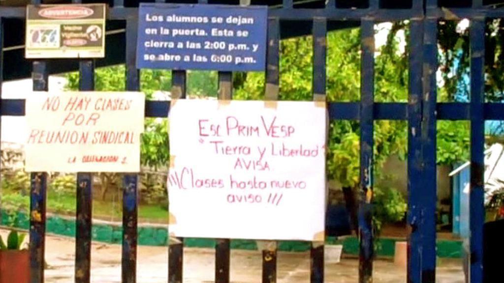 Brány škol v Acapulcu zůstaly zavřené