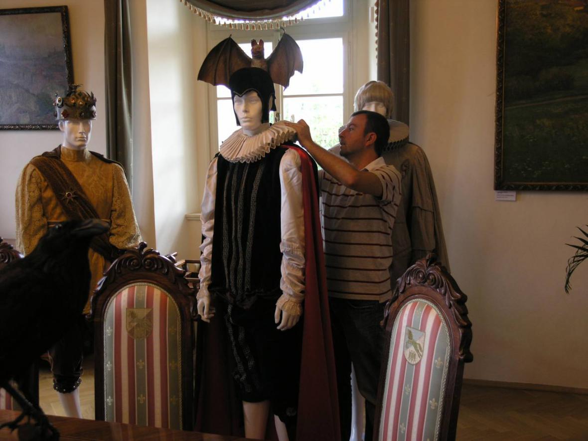 Arabela na Chvalském zámku