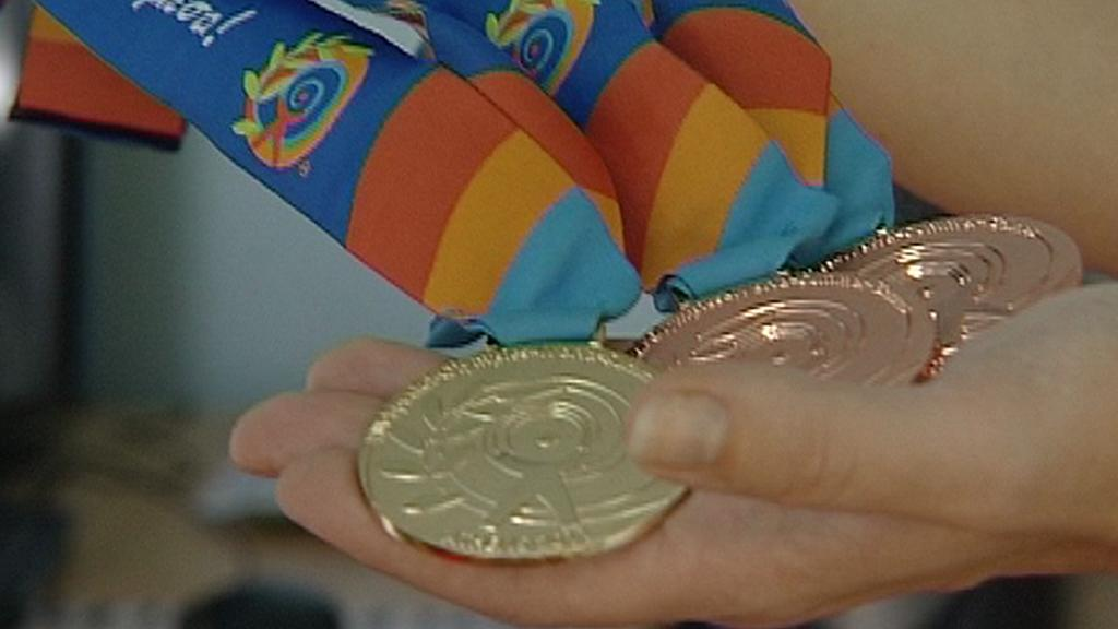 Olympijské medaile z Řecka