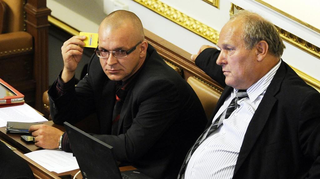 Jaroslav Škárka a Stanislav Huml