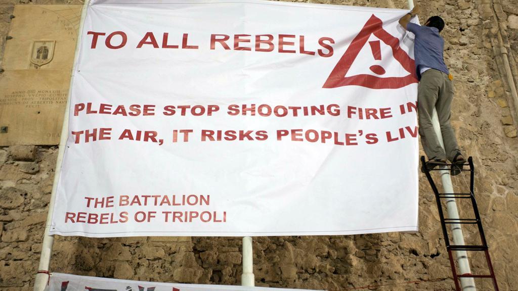 Výzva libyjským povstalcům: Nestřílejte do vzduchu