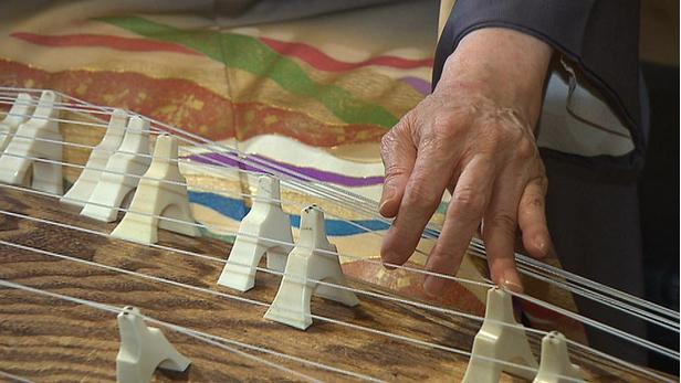 Japonský hudební nástroj kotó