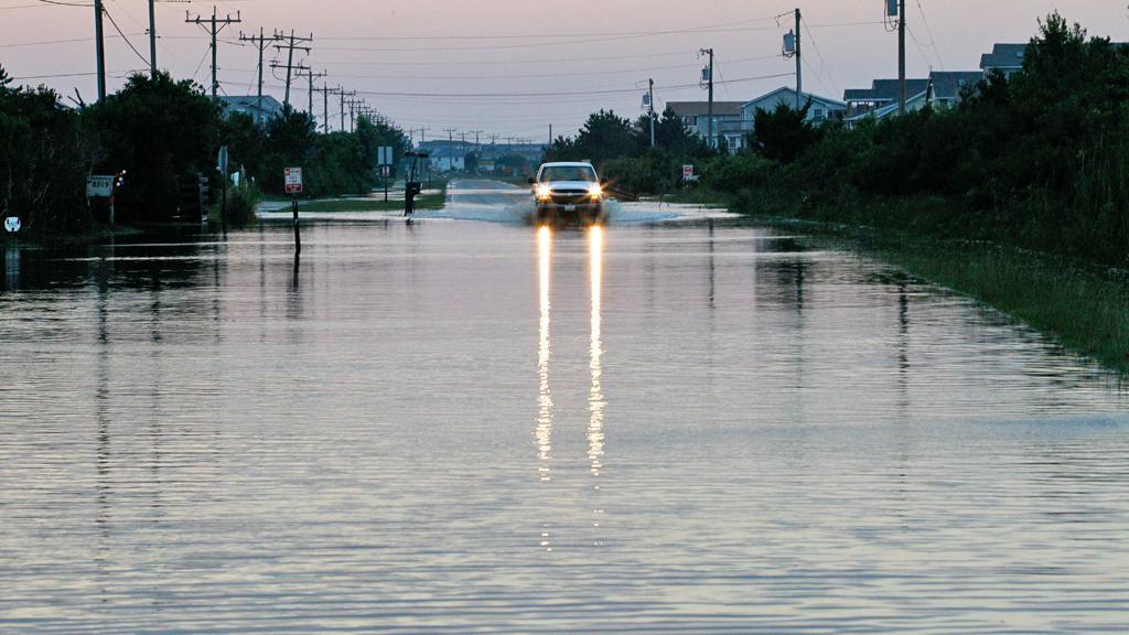 Následky hurikánu Irene v Severní Karolíně