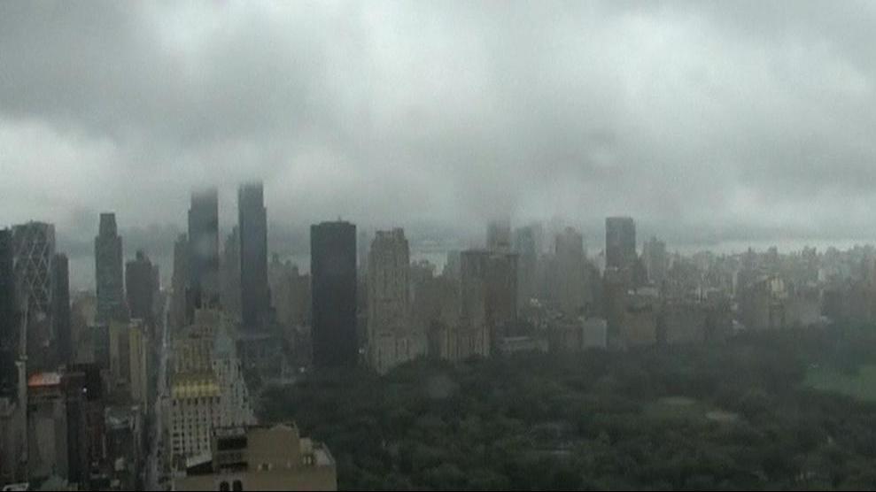 Hurikán v New Yorku