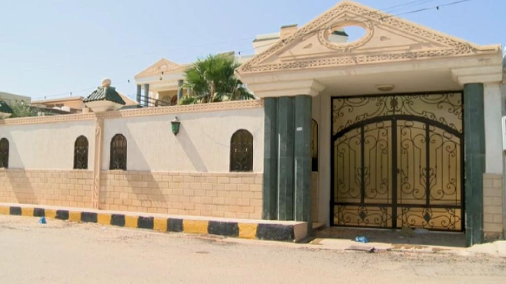 Sídlo Abdala Midžrahího v Tripolisu