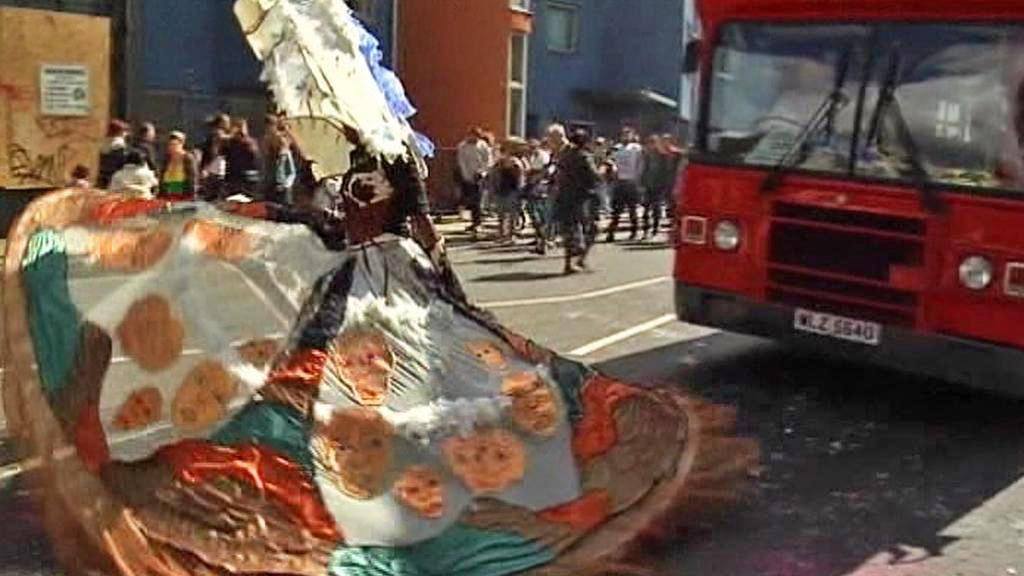 Karneval v londýnském Notting Hillu