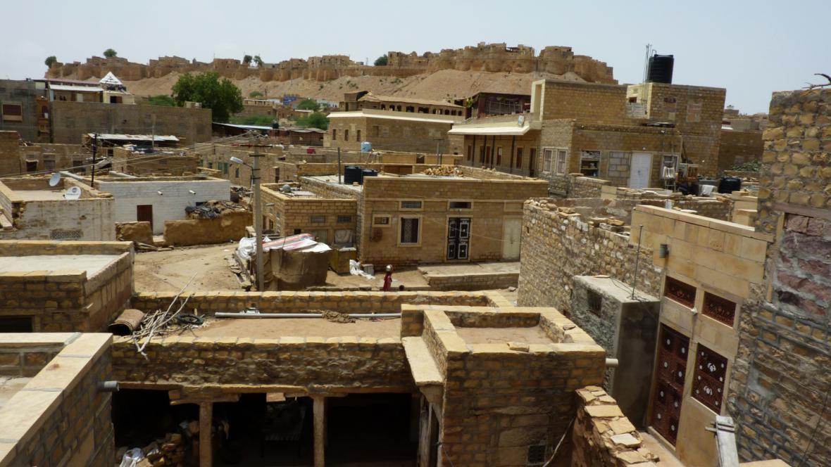 Pevnost a město Jaisalmer