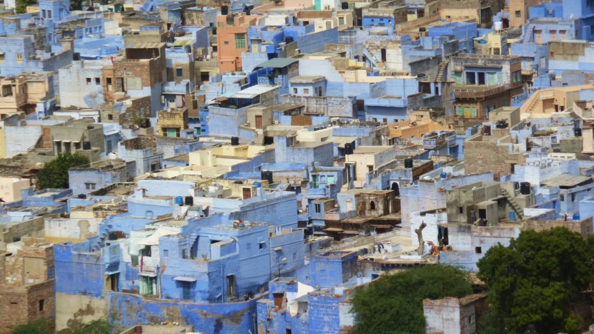 Modré město Džodpur