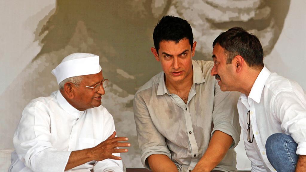 Anna Hazare s bollywoodskými tvůrci