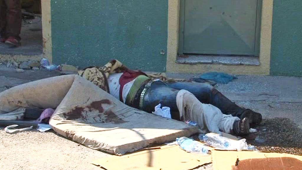 Oběť bojů o Tripolis