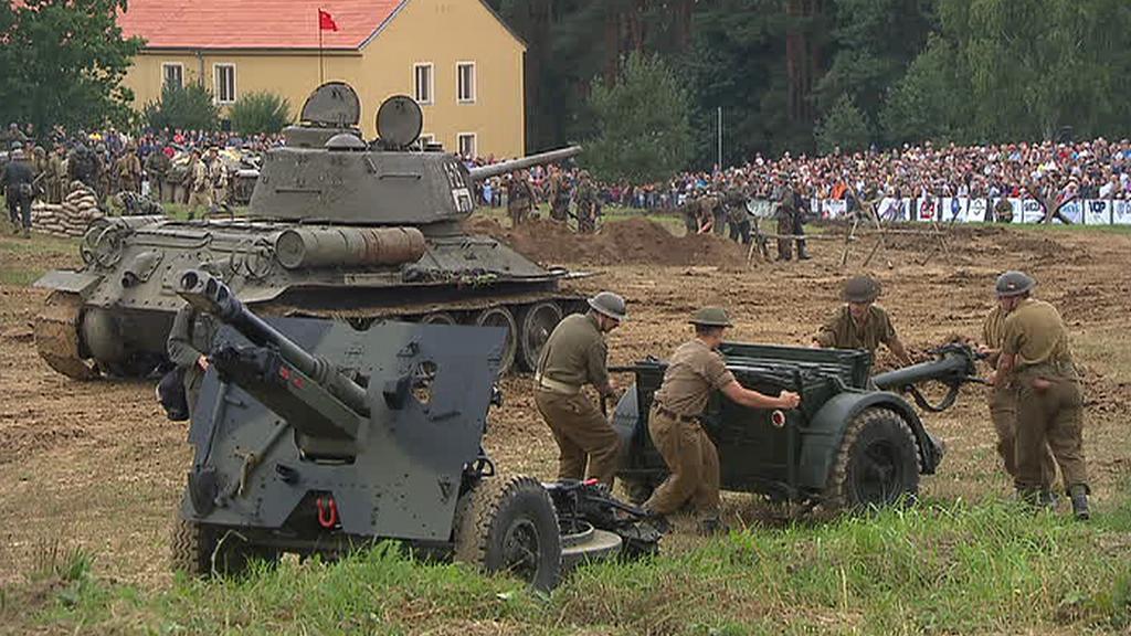 Tankový den v Lešanech 2011