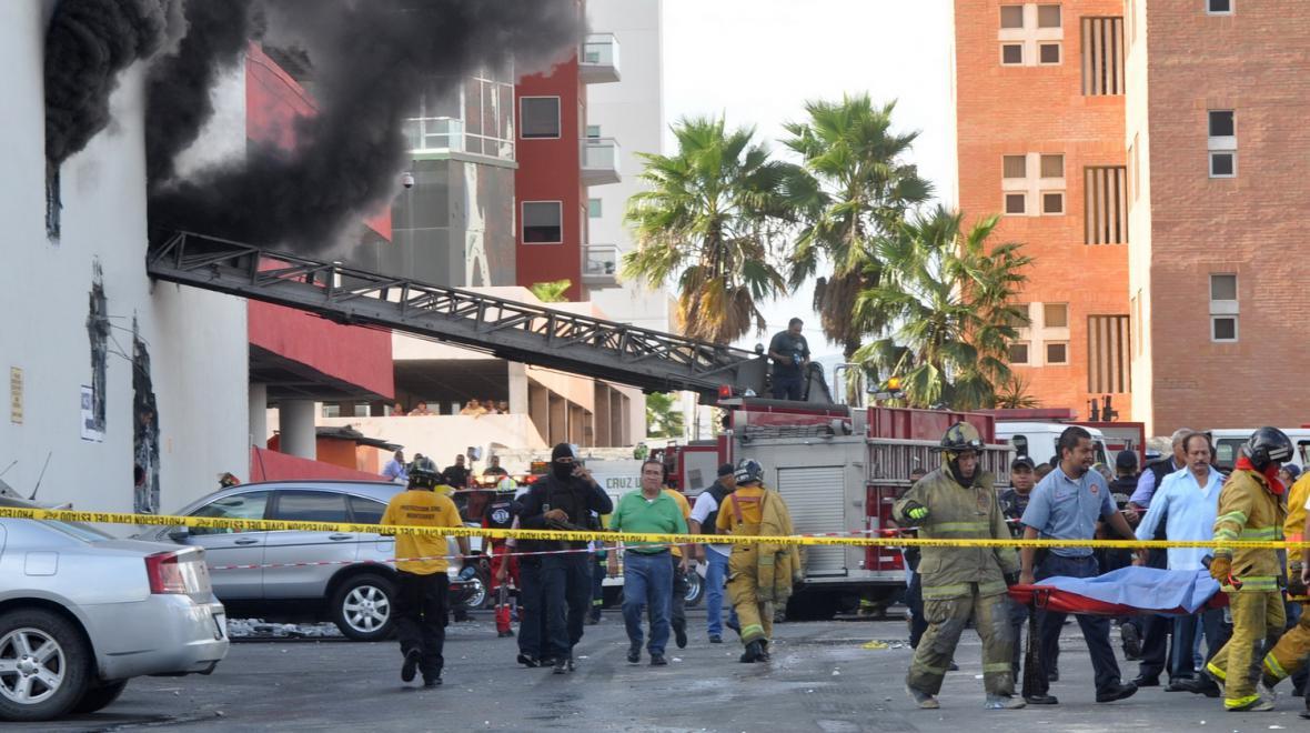 Útok na mexické kasino