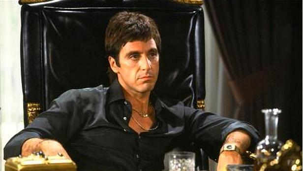 Al Pacino ve filmu Zjizvená tvář