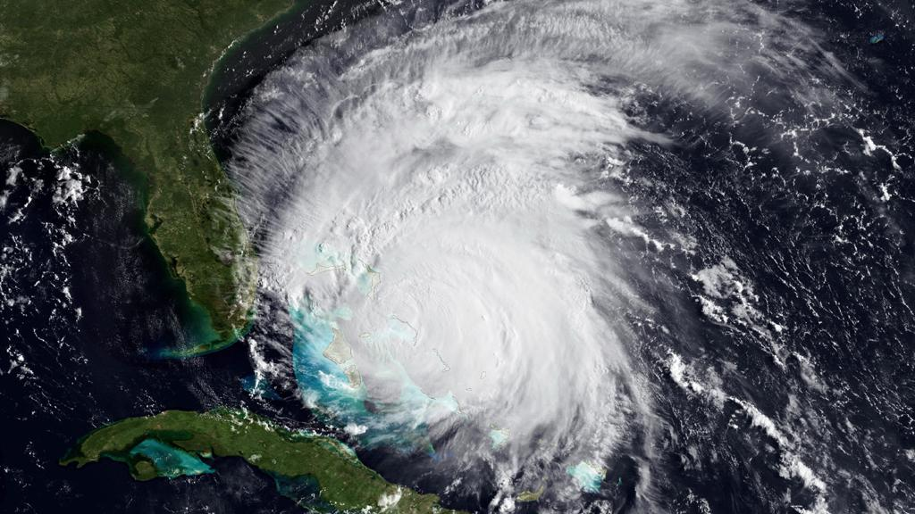 Hurikán Irene u pobřeží Spojených států
