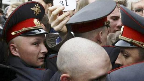 Ruští policisté