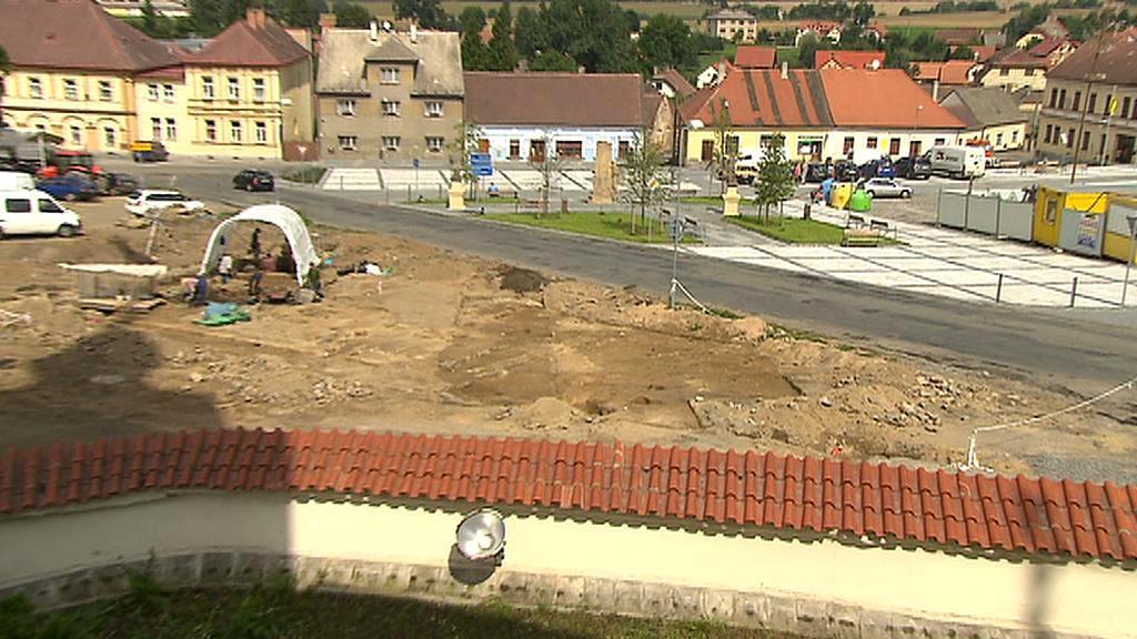 Archeologové v Prčici