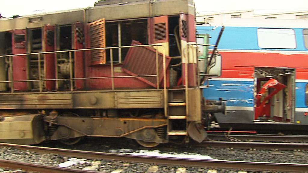 Vlaková nehoda v Libni