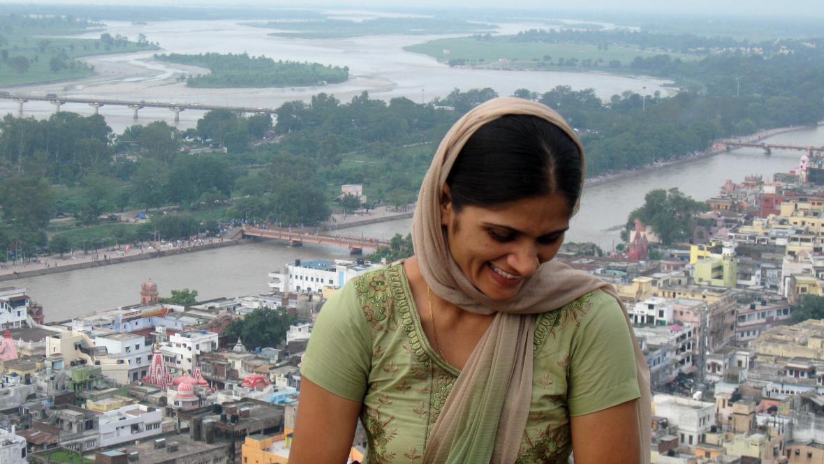 Výhled na Haridvár