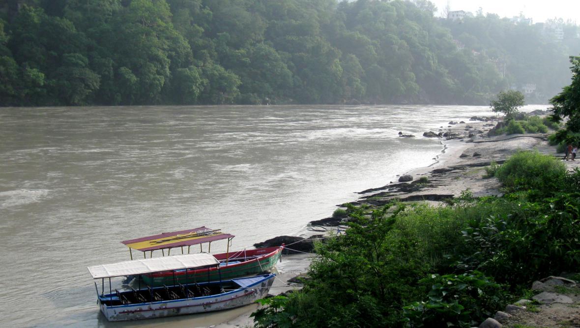 Indická řeka Ganga