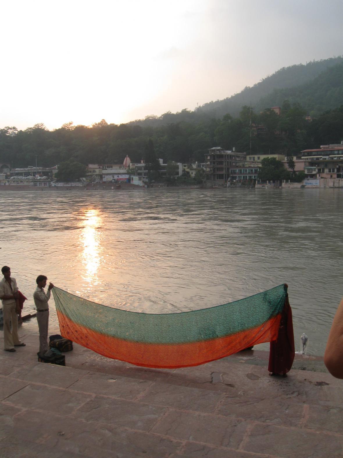 Na břehu Gangy