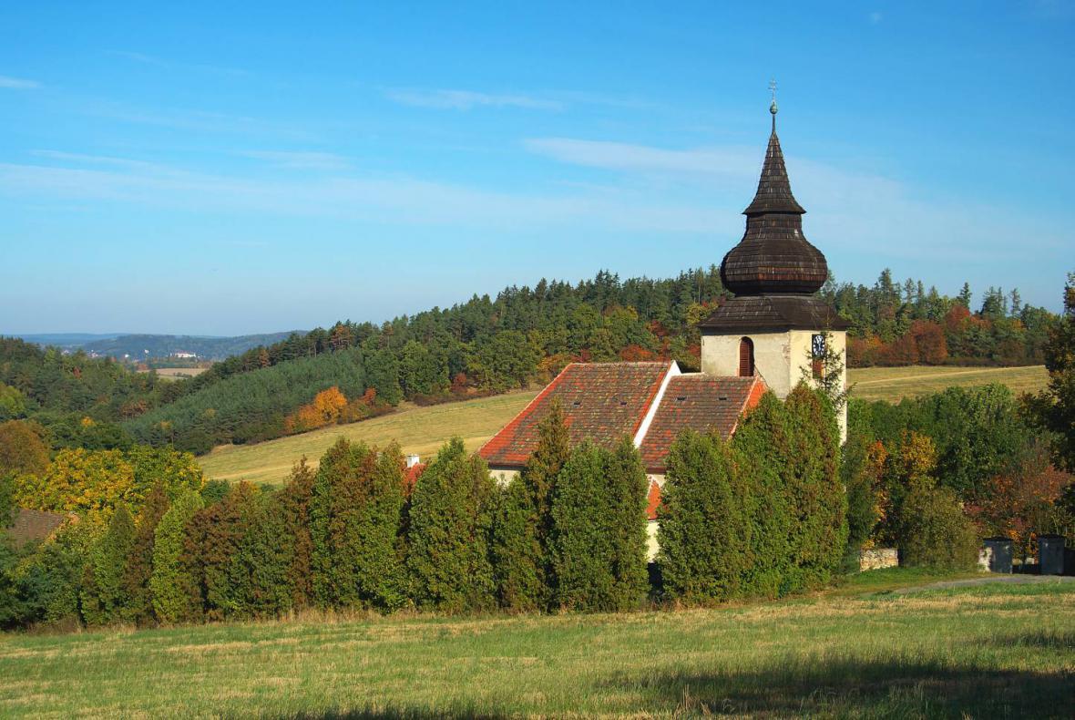 Kostel v Bělici