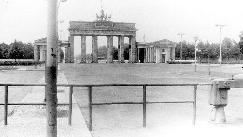 Braniborská brána v roce 1982