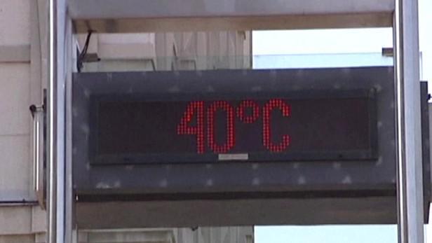 Evropu trápí vedra