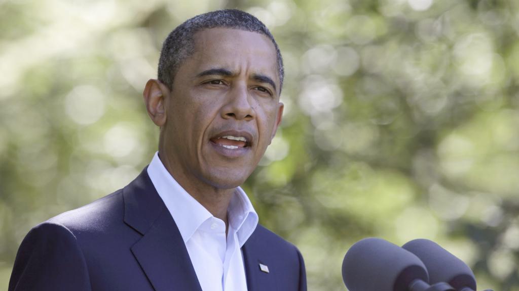 Podle Obamy přišel konec éry Muammara Kaddáfího