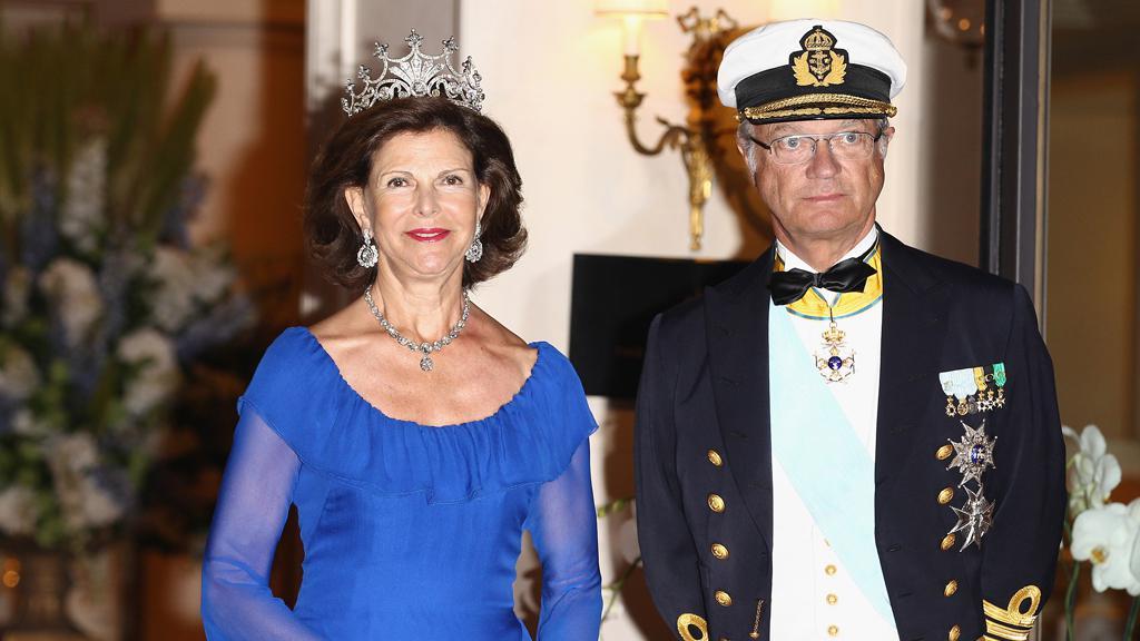 Švédská královna Sofie a švédský král Carl Gustav