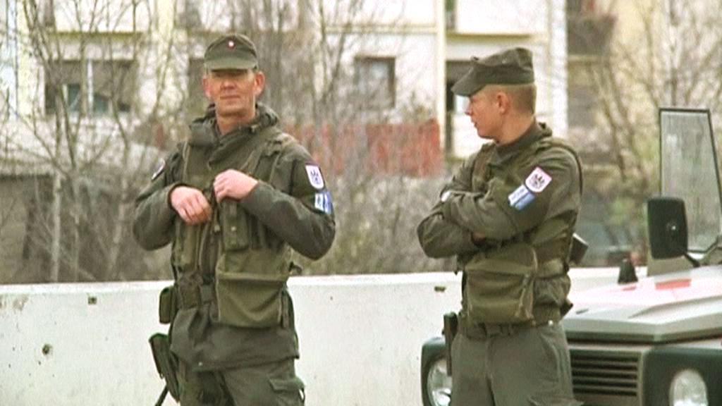 Hlídky na kosovsko-srbské hranici