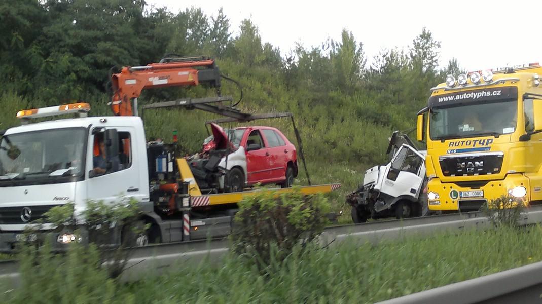 Nehoda na Jižní spojce