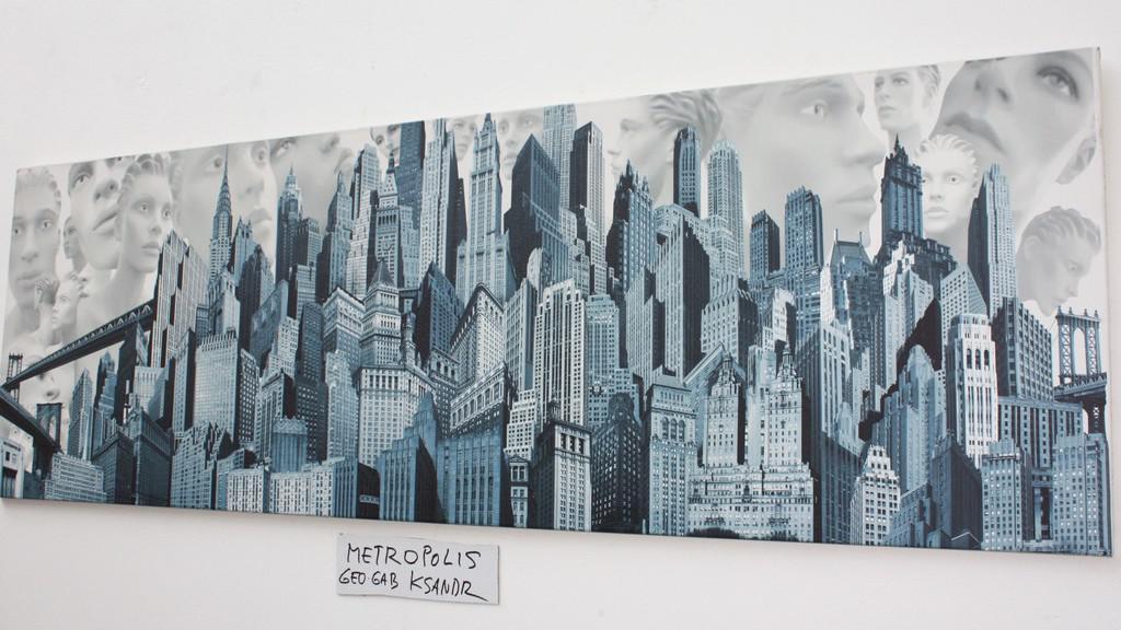 Z výstavy v galerii Nová síni