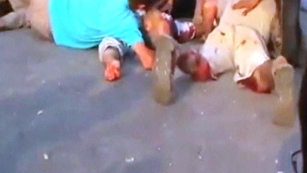 Oběti násilností v Sýrii