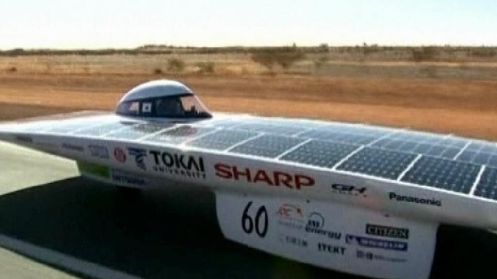 Elektromobil na solární pohon