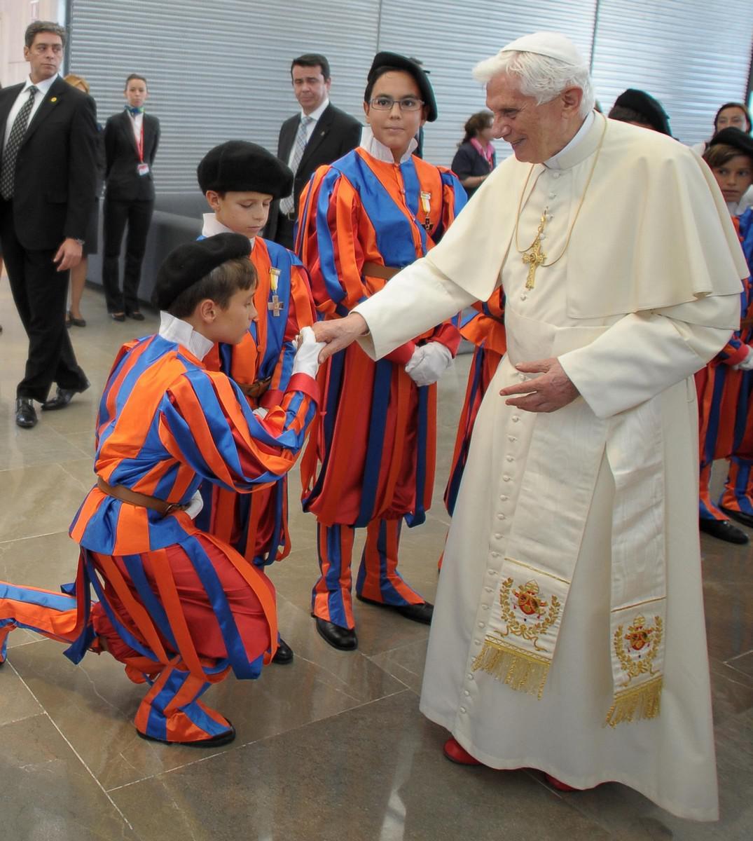 Papež na světových dnech mádeže