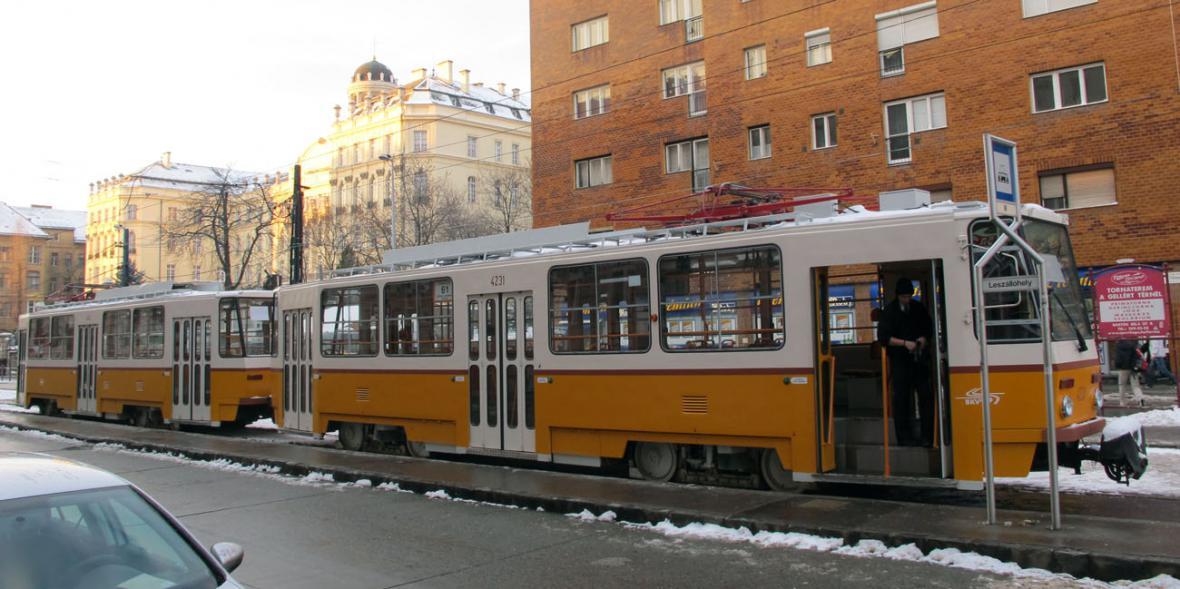 Budapešťská tramvaj