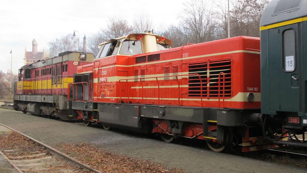 Motorové lokomotivy ČKD