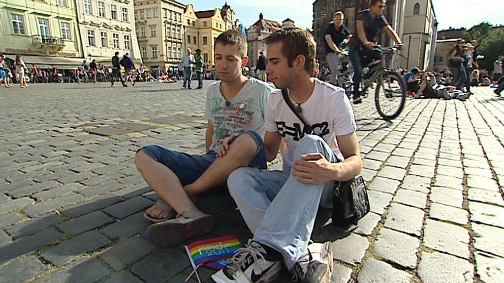 Gayové v Praze