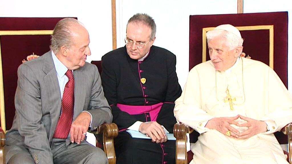 Papež Benedikt XVI. na návštěvě Madridu