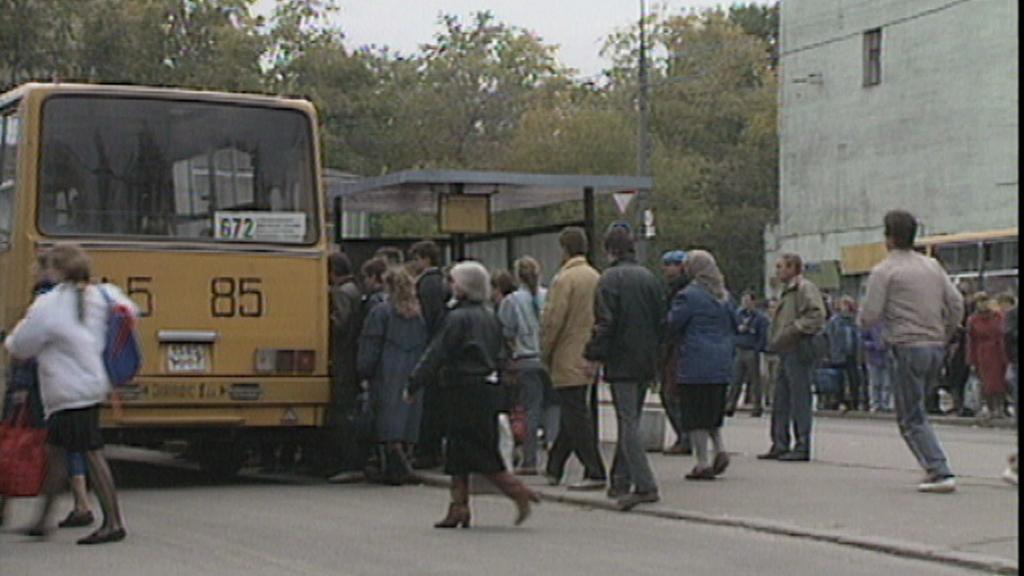 Moskva koncem 80. let