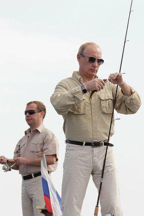 Putinův úlovek byl nepoměrně menší