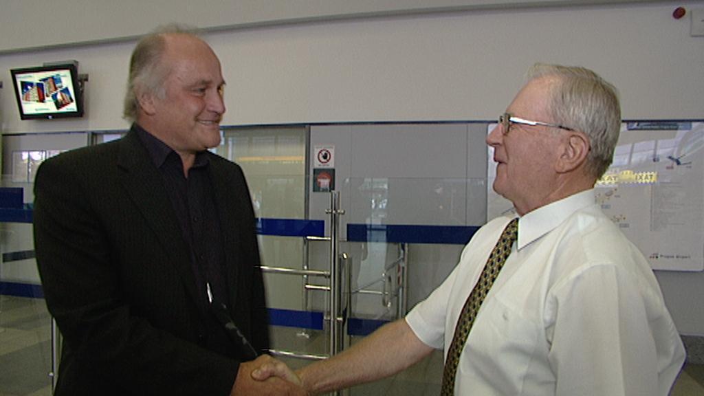 Michael Kocáb a Eduard Vorobjov
