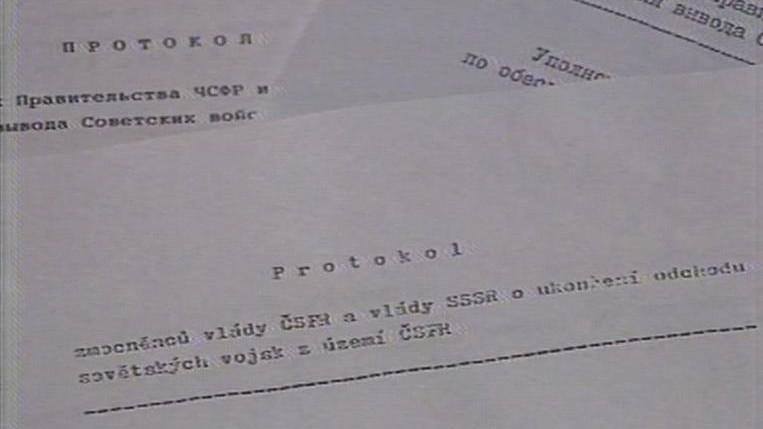 Protokol o odchodu sovětských vojsk