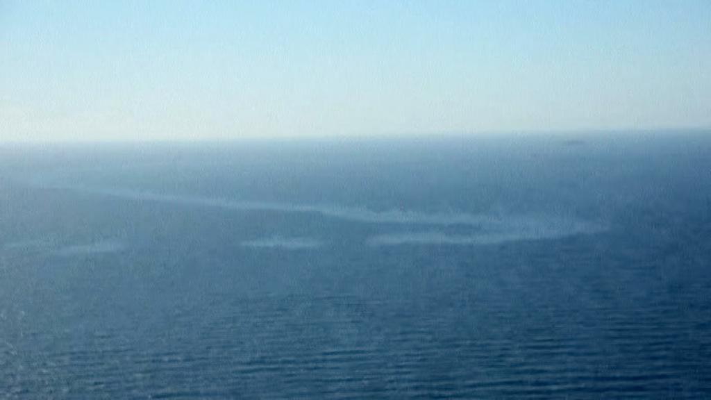 Ropná skvrna v Severním moři