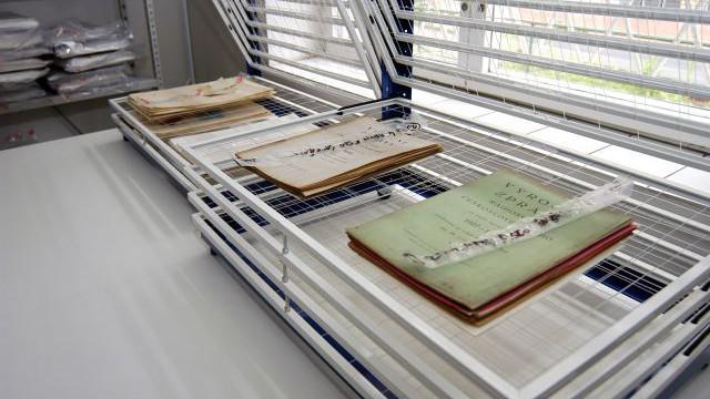 Vysoušení archiválií NTM