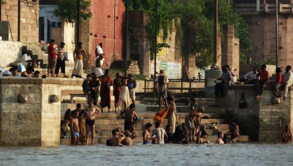 Koupel v Ganze