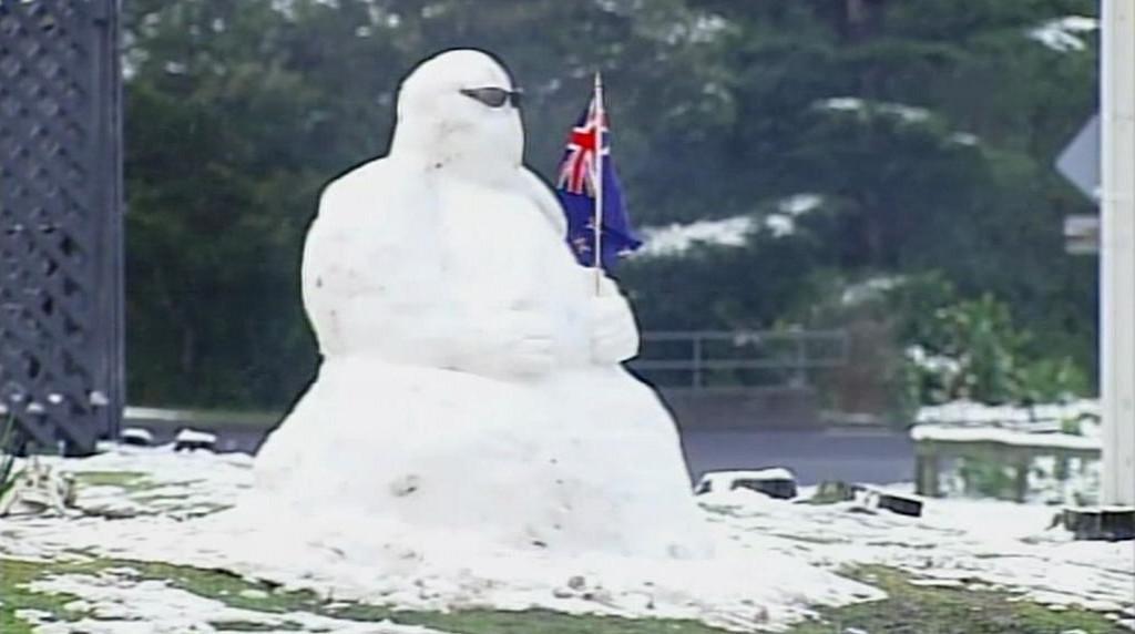 Nový Zéland překvapila sněhová nadílka