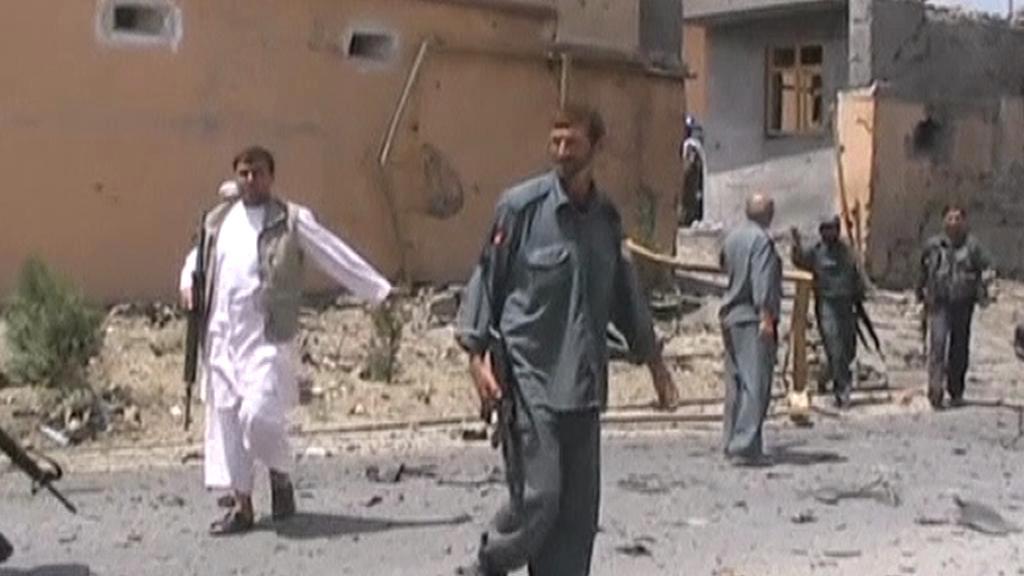 Sebevražedný útok v Afghánistánu